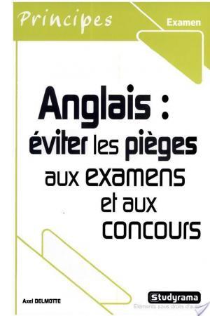 Affiche Anglais : éviter les pièges aux examens et aux concours