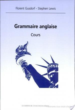 Affiche Grammaire anglaise