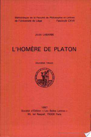Affiche L'Homère de Platon