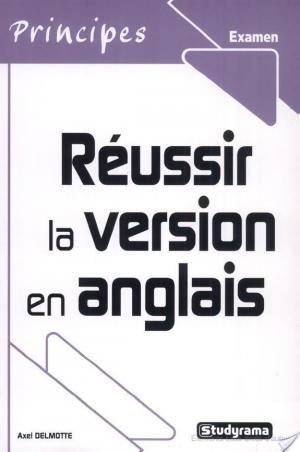 Affiche Réussir la version en anglais