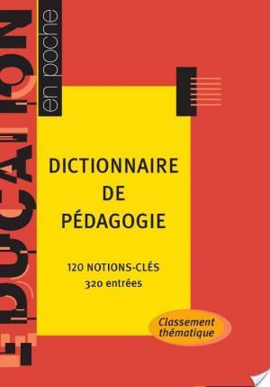 Affiche Dictionnaire de pédagogie