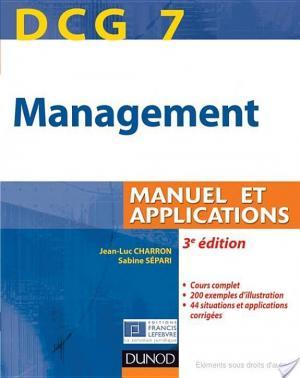 Affiche DCG 7 - Management - 3e édition