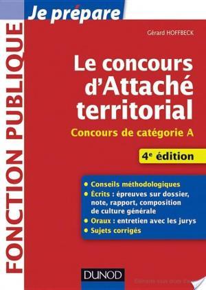 Affiche Le concours d'attaché territorial - 4e éd.