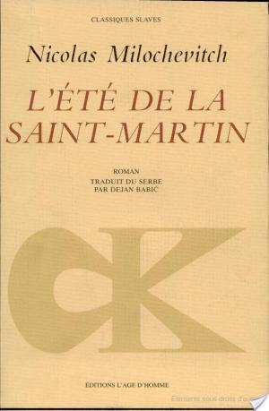 Affiche L'été de la Saint-Martin