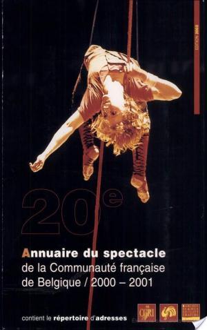 Affiche Annuaire du spectacle de la Communauté française de Belgique, 2000-2001