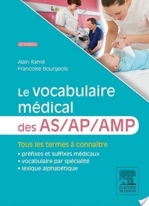 Affiche Le vocabulaire médical des AS/AP/AMP