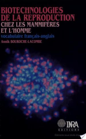 Affiche Biotechnologies de la reproduction chez les mammifères et l'homme