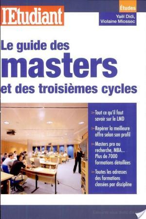 Affiche Le guide des masters et des troisièmes cycles