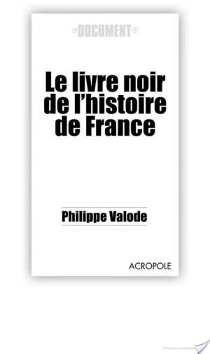 Affiche Le livre noir de l'histoire de France