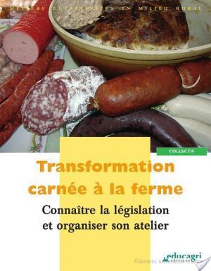 Affiche Transformation carnée à la ferme