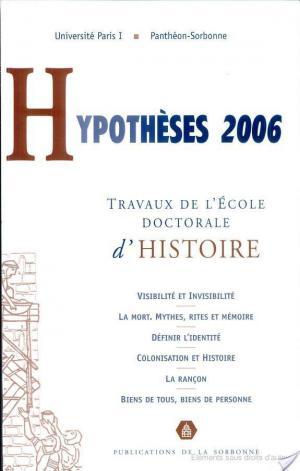 Affiche Hypothèses 2006