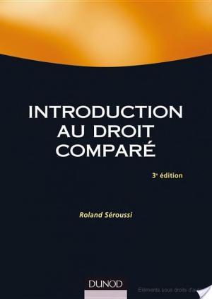 Affiche Introduction au droit comparé - 3ème édition