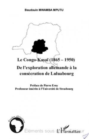 Affiche Le Congo-Kasaï (1865-1950)