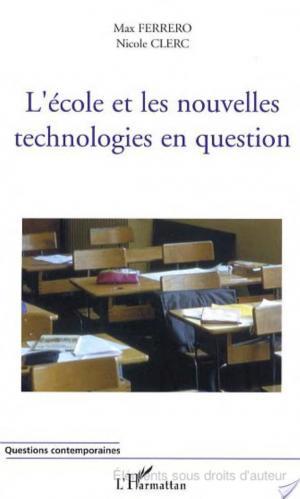 Affiche L'école et les nouvelles technologies en question
