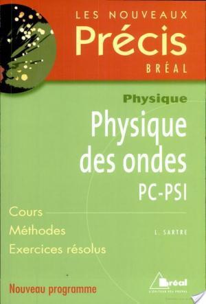 Affiche Physique des ondes PC-PSI