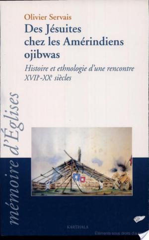 Affiche Des jésuites chez les Améridiens ojibwas