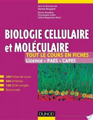 Affiche Biologie cellulaire et moléculaire (+ site compagnon)