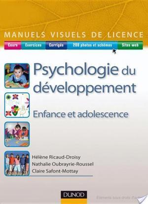 Affiche Psychologie du développement - Enfance et adolescence
