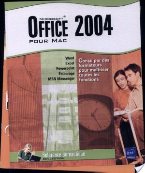 Affiche Office 2004 pour Mac