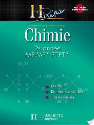 Affiche Chimie 2e année MP-MP*/PT-PT*