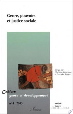 Affiche Genre, pouvoirs et justice sociale