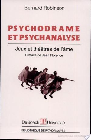 Affiche Psychodrame et psychanalyse