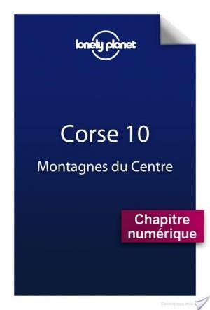 Affiche Corse 10 - Montagnes du centre