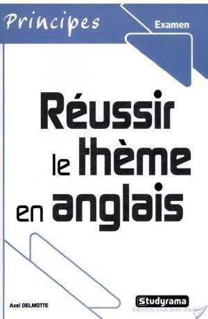 Affiche Réussir le thème en anglais