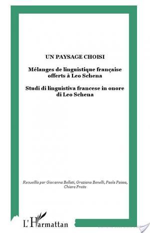 Affiche Studi di linguistica francese in onore di Leo Schena