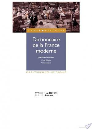 Affiche Dictionnaire de la France moderne