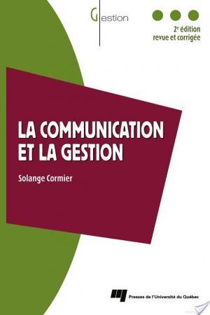 Affiche La Communication et la Gestion