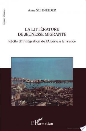 Affiche La littérature de jeunesse migrante