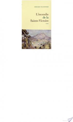 Affiche L'incendie de la Sainte-Victoire