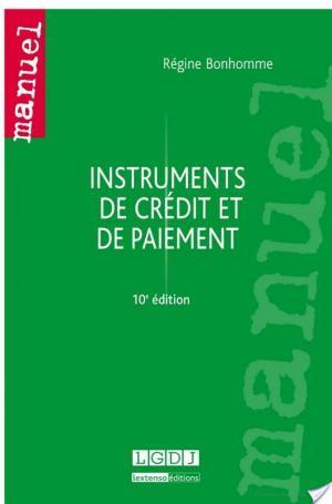 Affiche Instruments de crédit et de paiement