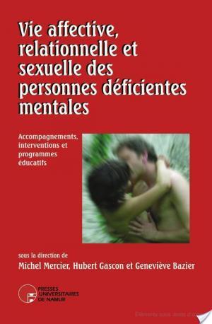 Affiche Vie affective et sexuelle des personnes déficientes mentales