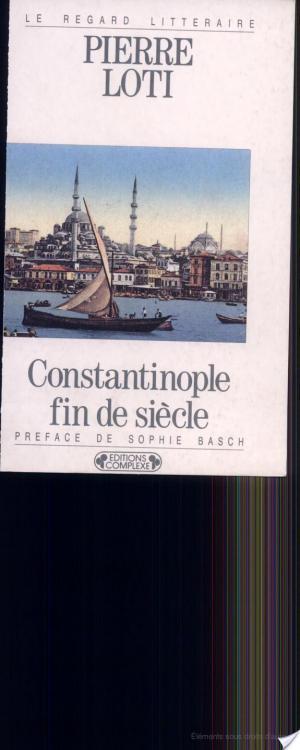 Affiche Constantinople fin de siècle