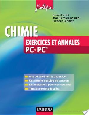 Affiche Chimie - Exercices et annales PC-PC*