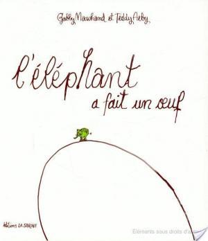 Affiche L'éléphant a fait un œuf