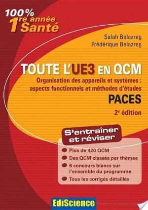 Affiche Toute l'UE3 en QCM PACES - 2e éd.