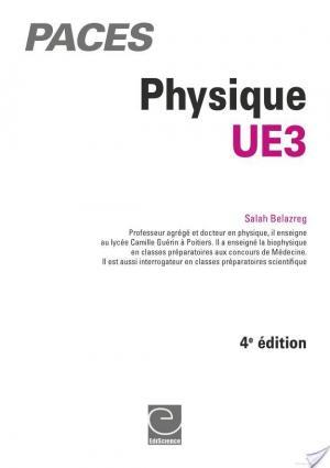 Affiche Physique-UE3 PACES - 4e éd.