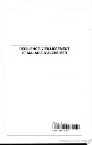 Affiche Résilience, vieillissement et maladie d'Alzheimer