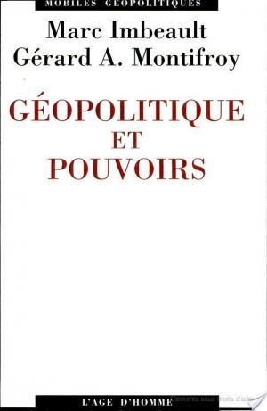 Affiche Géopolitique et pouvoirs