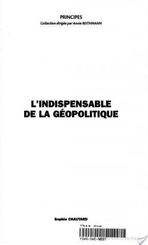 Affiche L'indispensable de la géopolitique