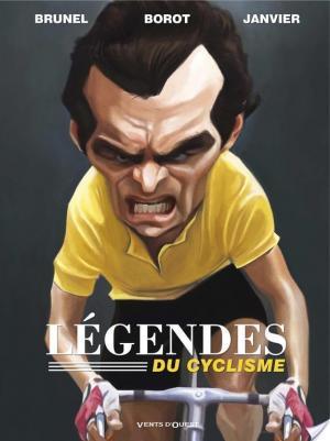 Affiche Les légendes du cyclisme