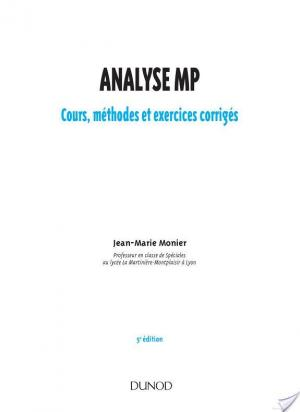 Affiche Analyse MP