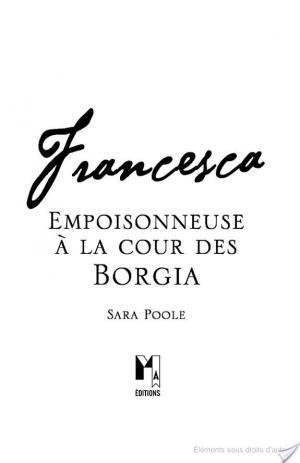 Affiche Francesca, Empoisonneuse à la cour des Borgia