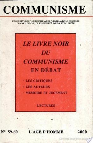 Affiche Le Livre Noir Du Communisme