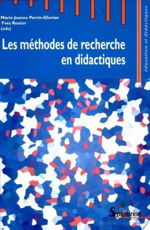 Affiche Les méthodes de recherche en didactiques