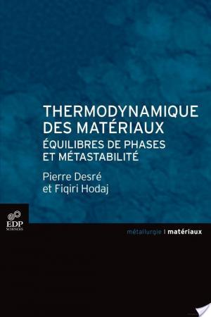 Affiche Thermodynamique des matériaux