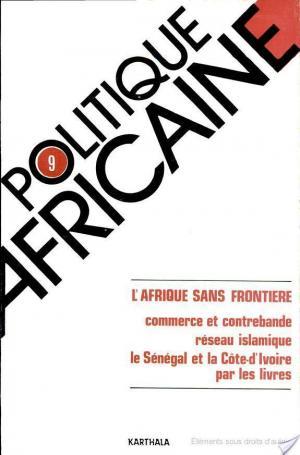 Affiche POLITIQUE AFRICAINE N-009-L'Afrique sans frontière